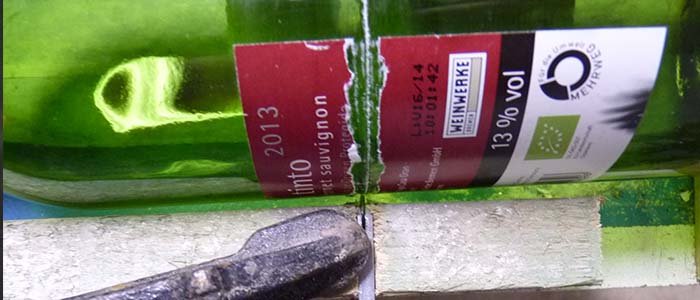 dinge mal anders, Flaschen schneiden